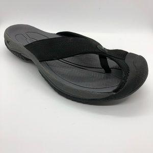 KEEN Men's Waimea H2-M Sandal, Black/Steel Grey